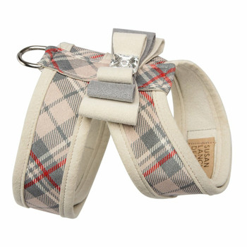Scotty Doe Plaid Big Bow Tinkie Harnesses by Susan Lanci