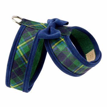 Scotty Forest Plaid Two Tone Tinkie Harness by Susan Lanci