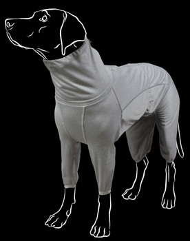 Hurtta Comfortable Dog Body Warmer - Carbon Grey