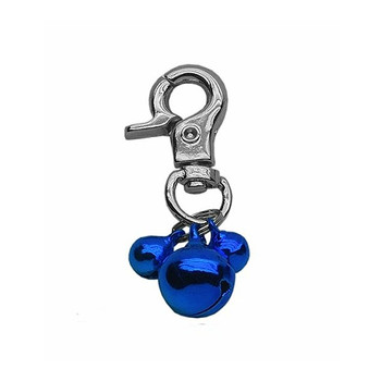 Triple Bells for Dog or Kitty Cat Collar or Harness - Blue