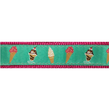 Dog Collar - Ice Cream -  3/4 & 1 1/4