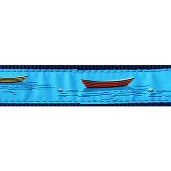 Dog Collar - Dories -  3/4 & 1 1/4