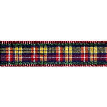 Dog Collar - Buchanan Plaid -  3/4 & 1 1/4