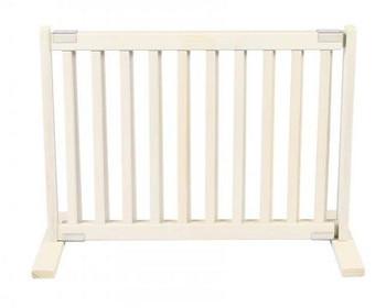 Free Standing Pet Gate - Small/Warm White