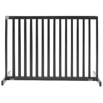 Free Standing Pet Gate - Small Tall/Black