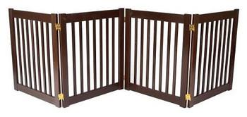 Four Panel EZ Pet Gate - Small/Black