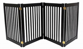 Four Panel EZ Pet Gate - Large/Artisan Bronze