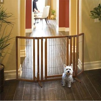 Premium Plus Freestanding Pet Gate with Door