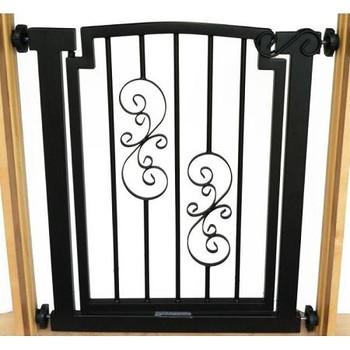 Noblesse Hallway Dog Gate - Black