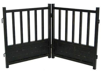 Large Royal Weave Freestanding Dog Gate
