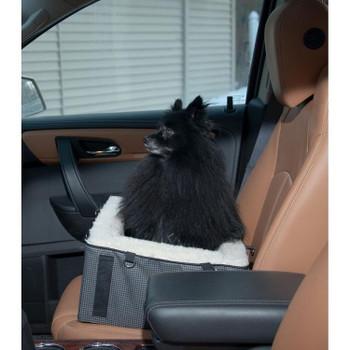 Designer Pet Booster Seat - Slate