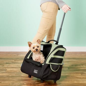 I-GO Plus Traveler Pet Carrier - Sage