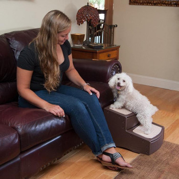 Easy Step II Pet Stairs - Chocolate