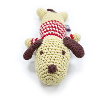 Lazy Dog PAWer Squeaker Dog Toy