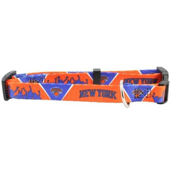New York Knicks Dog Collar  - h3500-0001