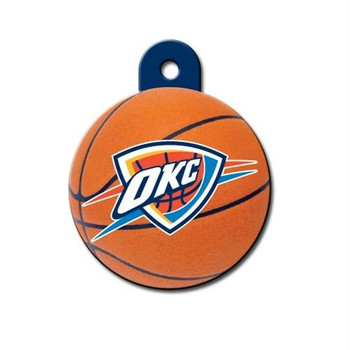 Oklahoma City Thunder Circle ID Tag