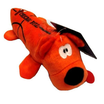 Chicago Bulls Plush Tube Pet Toy