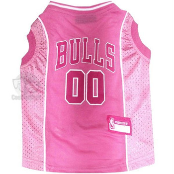 Chicago Bulls Pink Pet Jersey