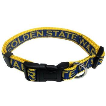 Golden State Warriors Pet Collar