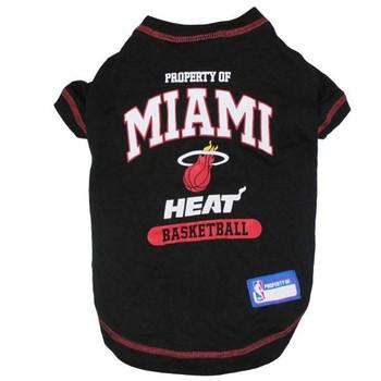 Miami Heat Pet T-Shirt  - pfmia4014-0001
