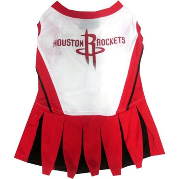 Houston Rockets Cheerleader Pet Dress