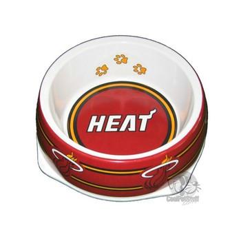 Miami Heat Dog Bowl  - sk420-0001