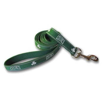 Boston Celtics Reflective Dog Leash