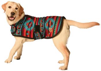Handmade Desert Rose Wool Blanket Pet Dog Coat