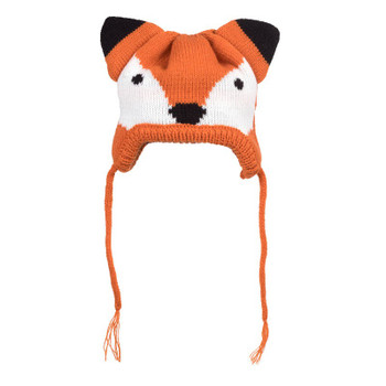 Orange Fox Pet Dog Hat