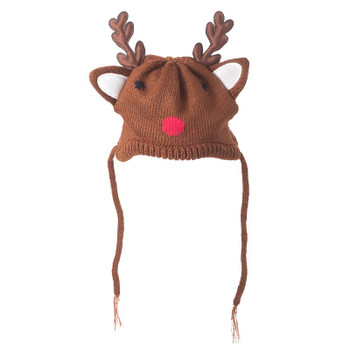 Holiday Reindeer Pet Dog Hat