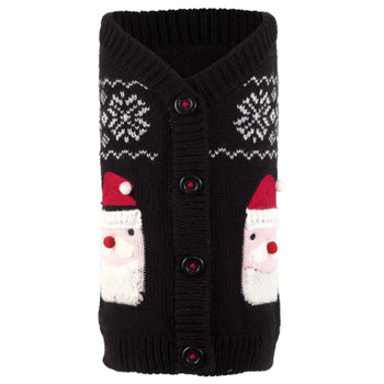 Santa Dog Cardigan Sweater