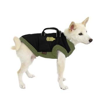 Military Dog Vest - Black