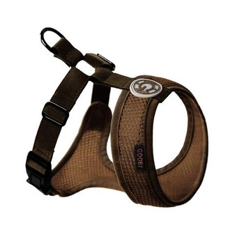 Freedom II Pet Dog Harness - Brown