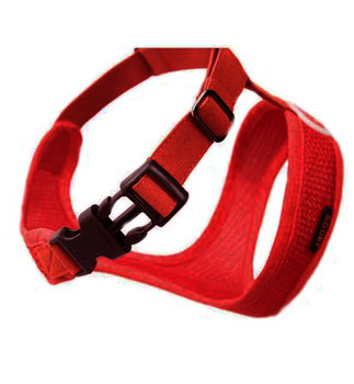 Buckle example - Freedom harness - Shown in Red