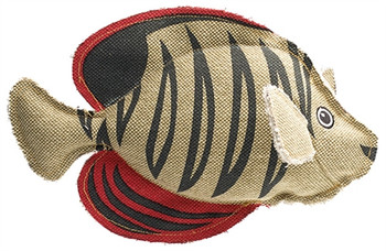 Canvas Collection Maritime Scalar Fish Dog Toy