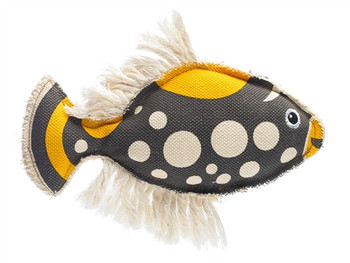 Canvas Collection Maritime Koi Fish Dog Toy