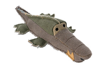 Canvas Collection Maritime Crocodile Dog Toy