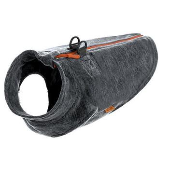 Step In - Zip Up Dog Fleece Wash - Grey