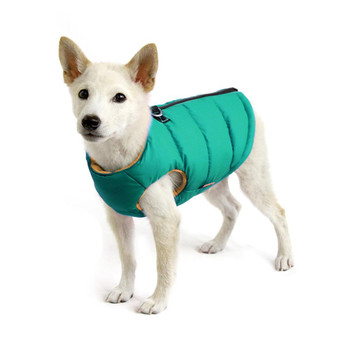 Step In - Zip Up Padded Dog Vest - Green