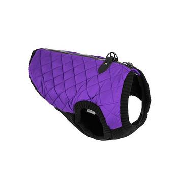 Step In - Zip Up Quilted Fashion Dog Vest - Violet