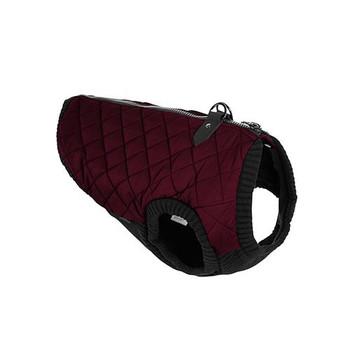 Step In - Zip Up Quilted Fashion Dog Vest - Dark Purple