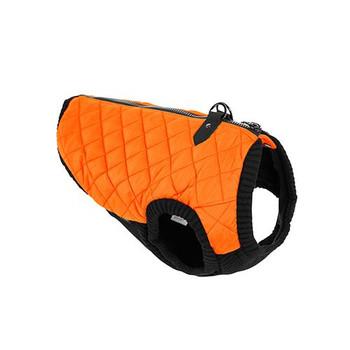 Step In - Zip Up Quilted Fashion Dog Vest - Orange
