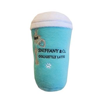 "Sniffany & Co. ""GoLightly Latte"" Plush Dog Toy"