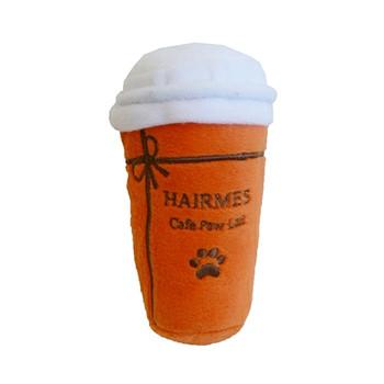 Hairmes Cafe Paw Lait Plush Dog Toy