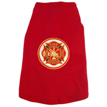 Fireman Seal Fire & Rescue Dog Tees