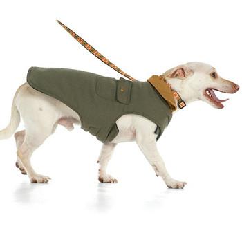 Chester Barn Dog Coat - Green