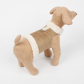 Dog Bowzer - Camel Harness Dog Jacket