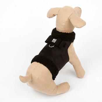 Dog Bowzer - Big Bow Black Harness Dog Jacket