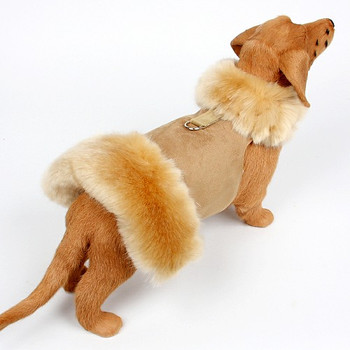 Champagne Fox Dog Coat - No Bow - Choose Color