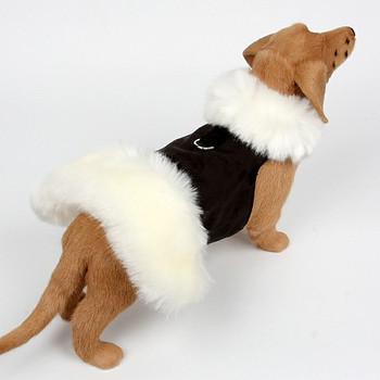 White Fox Dog Coat - No Bow - Choose Color